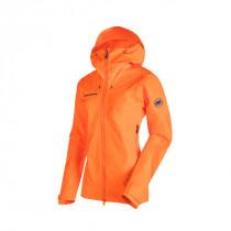 Mammut Nordwand Advanced HS Hooded Jacket Women Sunrise