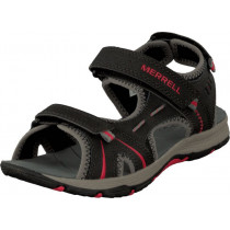 Merrell Panther Sandal Black/Red