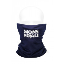 Mons Royale Double Up Neckwarmer Vert Navy