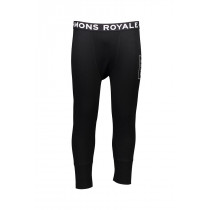 Mons Royale Men's Shaun-Off 3/4 Long John FOLO Black