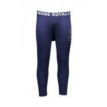 Mons Royale Men's Shaun-Off 3/4 Long John FOLO Navy
