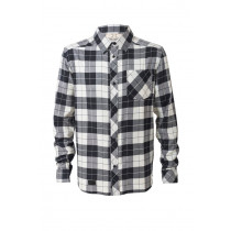 Mons Royale Jackson Flannel Shirt Black / White