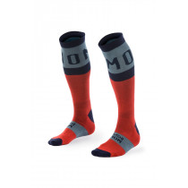 Mons Royale Men's Lift Access Sock Flame/Navy/Lead