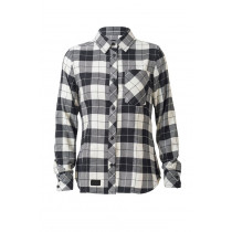 Mons Royale Jackson Flannel Shirt Black/White