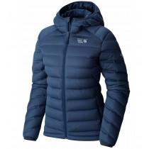 Mountain Hardwear Women's Stretchdown Hooded Jacket Zinc