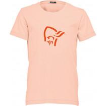 Norrøna /29 Cotton Logo T-Shirt (Jr) World Peach