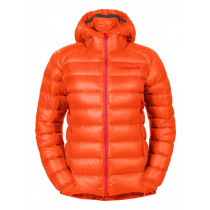 Norrøna Lyngen Lightweight Down750 Jacket Women's Orange Alert