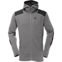 Norrøna Tamok Warm/Wool2 Zip Hood (M) Mercury