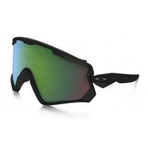 e94cf5dfbdbc Oakley Wind Jacket 2.0 Matte Black Prizm Jade Iridium