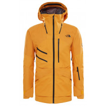 The North Face Men's Fuse Brigandine Jacket Zinnia Orange Fuse
