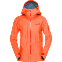 Norrøna Lofoten Gore-Tex Active Jacket (W) Orange Alert
