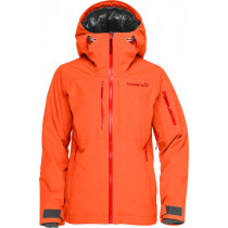 Norrøna Lofoten Gore-Tex Primaloft Jacket (Jr) Orange Alert