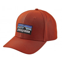 Patagonia P-6 Logo Roger That Hat Roots Red