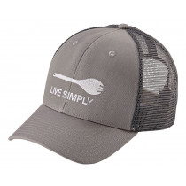Patagonia Live Simply Spork Trucker Hat Drifter Grey
