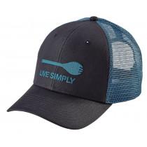 Patagonia Live Simply Spork Trucker Hat Smolder Blue