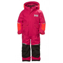 Helly Hansen K Snowfall Ins Suit Bright Rose