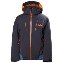 Helly Hansen Jr Boundary Jacket Graphite Blue