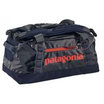 Patagonia Black Hole Duffel 45l Navy Blue W/Paintbrush Red