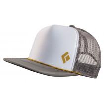 Black Diamond Flat Bill Trucker Hat Granite-Curry