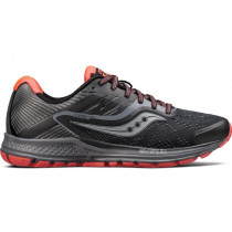 Saucony Ride 10 Reflex Woman's Black/Coral