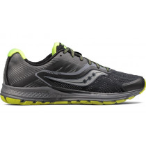 Saucony Ride 10 Reflex Men's Black/Citron