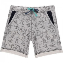 O'Neill Lb Surf Attack Fleece Shorts Grey