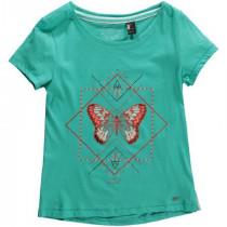 O'Neill Lg Mandala T-Shirt Turquoise