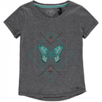 O'Neill Lg Mandala T-Shirt Silver Mel