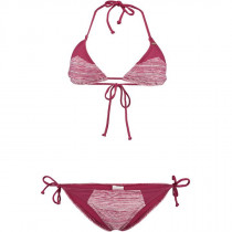 O'Neill Women's Print Triangle Bikini Red Aop