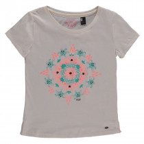 O'Neill Mandala T-Shirt Powder White