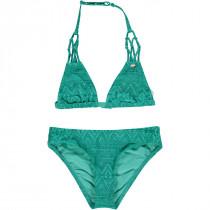 O'Neill Pg Boho Triangle Bikini Green Aop