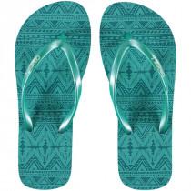 O'Neill Moya Flip Flop Green Aop w/green