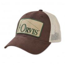Orvis Retro Trucker Cap B Brun