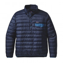 Patagonia M's Down Snap-T P/O Navy Blue