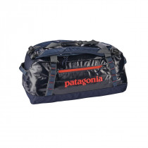 Patagonia Black Hole Duffel 60L Navy Blue w/Paintbrush Red