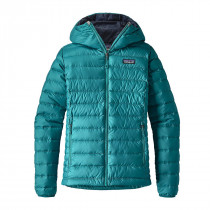 Patagonia W Down Sweater Hoody Elwha Blue