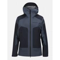Peak Performance Core 3-Layer Ski Jacket Blue Steel
