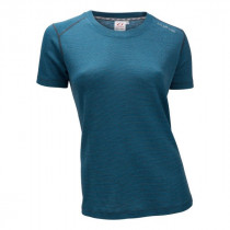 Ulvang Merino Light Tee Ws Mosaic Blue/Granite
