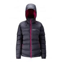 Rab Ascent Jacket Womens Beluga/Peony Dunjakke