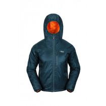 Rab Endurance X Hoodie Blue Steel/Burnt Orange