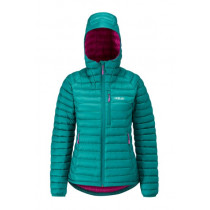 Rab Microlight Alpine Jacket Womens Spruce