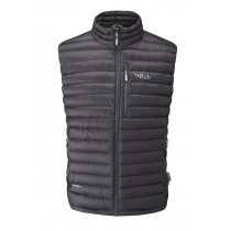 Rab Microlight Vest Black/Shark