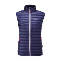 Rab Microlight Vest Women's Twilight / Fuschia