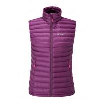 Rab Microlight Vest Womens Berry