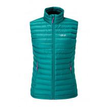 Rab Microlight Vest Womens Spruce
