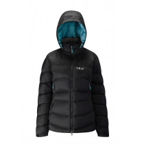 Rab Ascent Jacket Wmns Black/ Seaglass