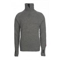 Ulvang Rav sweater w/zip Grå Melert