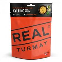 Real Turmat Kylling Tikka Masala Orange 500 gram