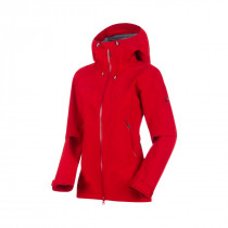 Mammut Ridge Hs Hooded Jacket Women Magma