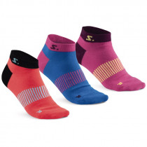 Salming Ancle Sock 3-Pack Diva Pink/ Mixed